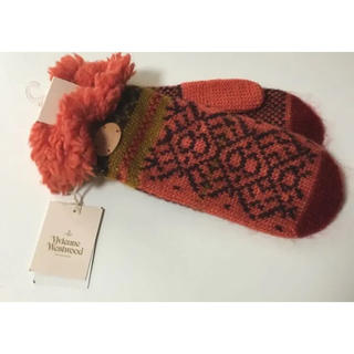 ヴィヴィアンウエストウッド(Vivienne Westwood)の新品 Vivienne Westwood ヴィヴィアンウエストウッド 手袋ミトン(手袋)
