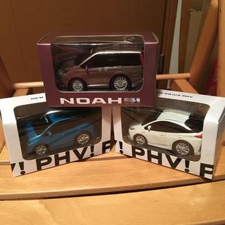トヨタ(トヨタ)のトヨタ プルバックカー  ノア&プリウスPHV合計3台セット(ミニカー)