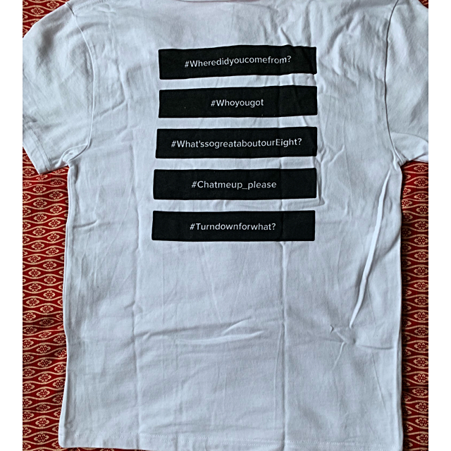 関ジャニ∞(カンジャニエイト)の関ジャニ∞ リサイタル グッズ Tシャツ エンタメ/ホビーのタレントグッズ(アイドルグッズ)の商品写真