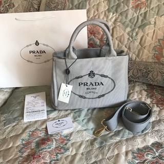 PRADA - プラダ  キャンバス トートバッグ