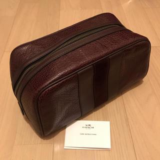 コーチ(COACH)の美品 COACH メンズ セカンドバッグ クラッチバッグ 21387BLK (セカンドバッグ/クラッチバッグ)