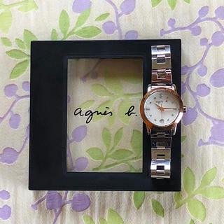 agnes b. - アニエス・ベー  ㉑   腕時計・稼動品✨