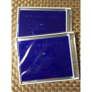 メイベリン(MAYBELLINE)のメイベリン ノベルティ 携帯用ミラー2枚セット‼︎(ミラー)