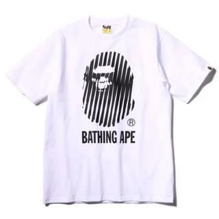 アベイシングエイプ(A BATHING APE)のXLサイズ WHT SOPH.20周年記念BAPEコラボTシャツ(Tシャツ/カットソー(半袖/袖なし))