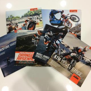 ハーレーダビッドソン(Harley Davidson)のKTM、Harley-Davidson カタログ 全7種(カタログ/マニュアル)