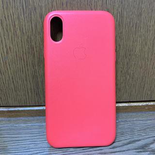 Apple - iPhone XR 本革レザーケース
