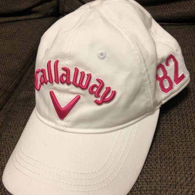 0975c2ec97d29 Callaway Golf(キャロウェイゴルフ)のキャロウェイ キャップ レディース スポーツ/アウトドアのゴルフ(