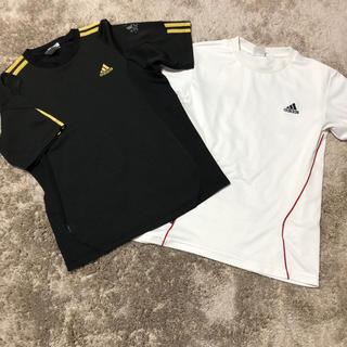 アディダス(adidas)の【adidas】アディダス (M) Tシャツ ブラック(Tシャツ(半袖/袖なし))