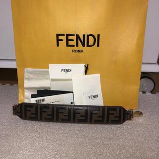 フェンディ(FENDI)のFENDI レザーショルダーストラップ(バッグチャーム)
