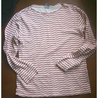 チャムス(CHUMS)のchums  シャツ 長袖 M(Tシャツ/カットソー(七分/長袖))