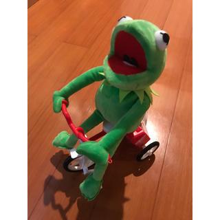 セサミストリート(SESAME STREET)のカーミット 自転車こぐ 動く(ぬいぐるみ)