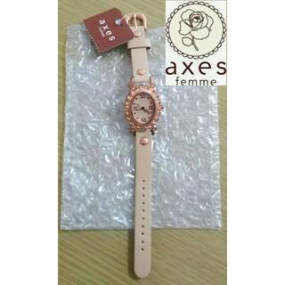 axes femme - 【タグ付き・未使用】axes femme 音符針 腕時計