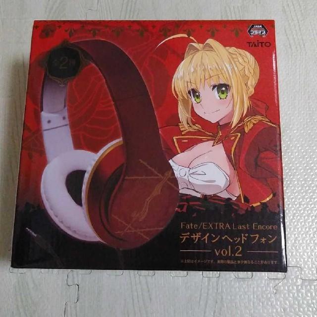 Fate/EXTRA Last Ecore デザインヘッドフォン2種 エンタメ/ホビーのおもちゃ/ぬいぐるみ(キャラクターグッズ)の商品写真