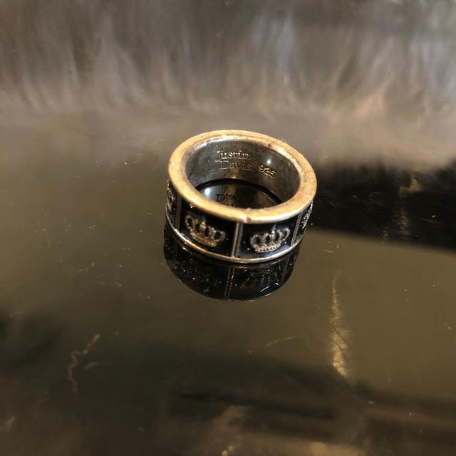 Justin Davis(ジャスティンデイビス)のJustin davis シルバーリング メンズのアクセサリー(リング(指輪))の商品写真