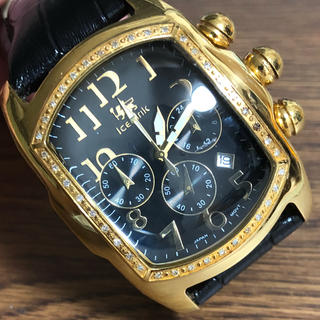アヴァランチ(AVALANCHE)のICE LINK アイスリンク ファットアイス 10433 クロノグラフ(腕時計(アナログ))