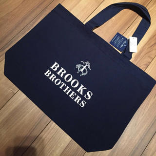 Brooks Brothers - 【新品未使用タグ付き】BROOKS BROTHERS 大人気 トートバッグ 紺