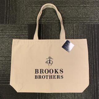 ブルックスブラザース(Brooks Brothers)の【新品未使用タグ付き】BROOKS BROTHERS 大人気 トートバッグ 白(トートバッグ)