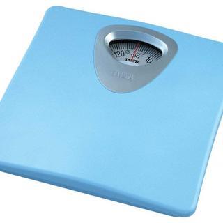 タニタ(TANITA)の激安につき、完売注意!!タニタ 体重計 アナログ ブルー HA-851 BL(体重計)