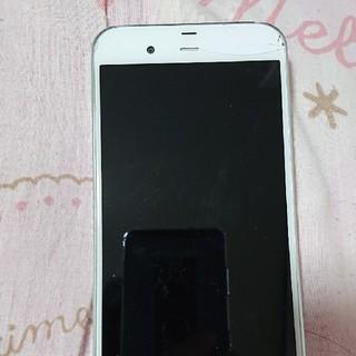 シャープ(SHARP)のau SHARP AQUOS SHV34 ホワイト(スマートフォン本体)