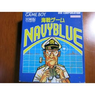 ゲームボーイ(ゲームボーイ)のゲームボーイ GB 海戦ゲーム ネイビーブルー 箱 説明書 付き(携帯用ゲームソフト)