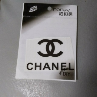 CHANEL - CHANEL☆人気☆アイロンプリント