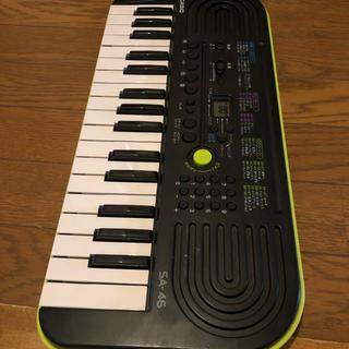 カシオ(CASIO)のキーボード SA-46(キーボード/シンセサイザー)