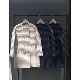 Theory luxe - theory luxe ノーカラーダウンコート サイズ38