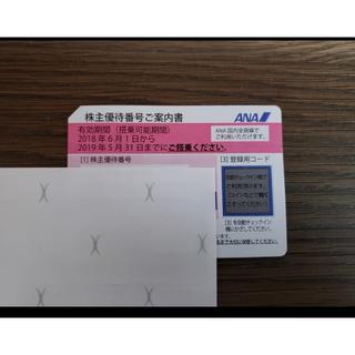 ANA(全日本空輸) - ANA 全日空 株主優待券 2019年5月31日搭乗分まで