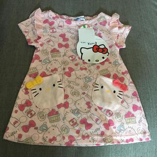 しまむら - しまむら キティ ベビー服 tシャツ ワンピース