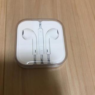 iPhone - 【新品】iPhone イヤホン 純正
