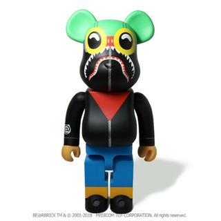 MEDICOM TOY - BE@RBRICK 1000% FLYBOY SHARK BAPE XXV