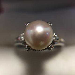 プラチナ ダイヤモンド 指輪 総重量4.9g(リング(指輪))