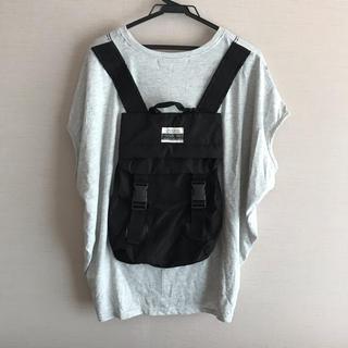 リベットアンドサージ(rivet & surge)の◎rivet&surge◎ バックパック ビッグ Tシャツ グレー(Tシャツ(半袖/袖なし))