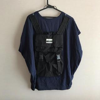 リベットアンドサージ(rivet & surge)の◎rivet&surge◎ バックパック ビッグ Tシャツ ネイビー(Tシャツ(半袖/袖なし))