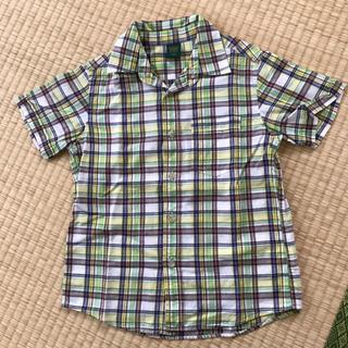 ユニクロ(UNIQLO)の120㎝ ユニクロチェックシャツ(ブラウス)