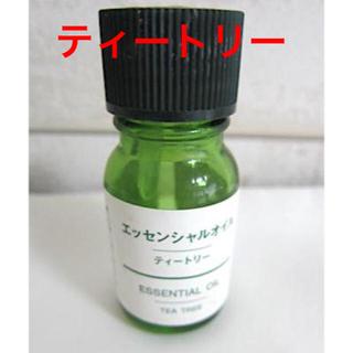 ムジルシリョウヒン(MUJI (無印良品))の雑貨305/エッセンシャルオイル:ティートリー 約5ml(その他)