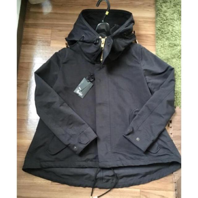 DEUXIEME CLASSE(ドゥーズィエムクラス)の2019SS ドゥーズィエムクラス リラクスモッズコート  レディースのジャケット/アウター(モッズコート)の商品写真