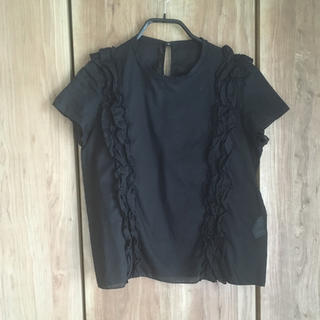 ドゥロワー(Drawer)のドゥロワー  縦フリル デザイン Tシャツ(Tシャツ(半袖/袖なし))