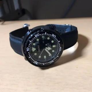 セイコー(SEIKO)の超美品!SEIKOマリンマスターSBBN035 忍者ツナ(腕時計(アナログ))