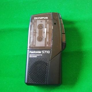 オリンパス(OLYMPUS)のS710 黒(ヘッドフォン/イヤフォン)