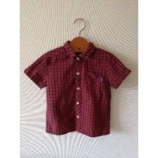 ファミリア(familiar)のファミリア チェックシャツ110(ブラウス)