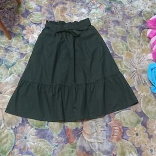 UNIQLO - 美品♪ウエストリボン ロングスカート