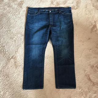 ユニクロ(UNIQLO)のUNIQLOジーンズ大きいサイズ メンズ(デニム/ジーンズ)