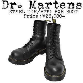 Dr.Martens - ★美品★Dr.Martens★ドクターマーチン★10ホール★スチールトゥ ブーツ