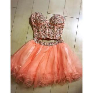 エンジェルアール(AngelR)のイルマ ドレス orange(ミニドレス)