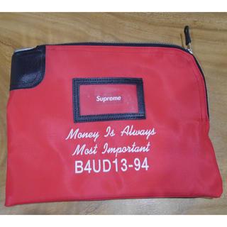 シュプリーム(Supreme)のsupreme Rifkin Safety Sac Red マネーバック 新品(セカンドバッグ/クラッチバッグ)