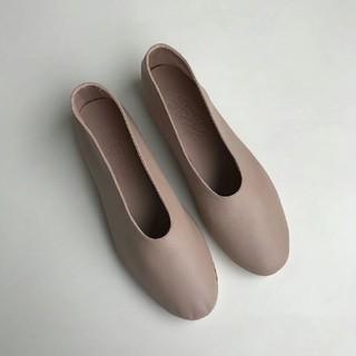 トゥモローランド(TOMORROWLAND)のマルティニアーノ フラット パンプス バレエシューズ(ローファー/革靴)