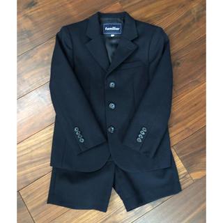 e40afc8bd8835 ファミリア(familiar)のfamiliar 120 濃紺 お受験スーツ(ドレス フォーマル)
