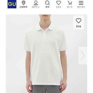 ジーユー(GU)のGUドライポロシャツ(半袖) メンズ L(ポロシャツ)