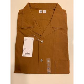 【新品・未使用】ユニクロ  オープンカラーシャツ 長袖 XL